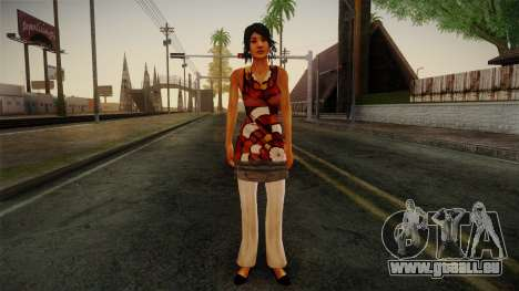 Billie from Stranglehold pour GTA San Andreas