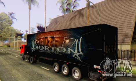 Trailer Chereau Morton Band 2014 für GTA San Andreas linke Ansicht