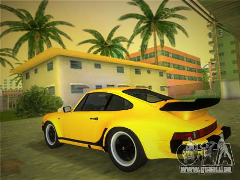 Porsche 911 Turbo 3.3 Coupe US-spec (930) 1978 für GTA Vice City linke Ansicht
