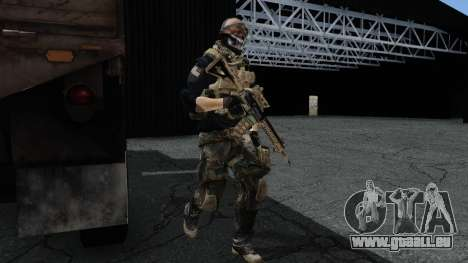 Army Ghost v2 pour GTA San Andreas deuxième écran