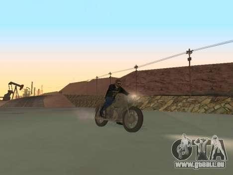 Oural M72 pour GTA San Andreas sur la vue arrière gauche