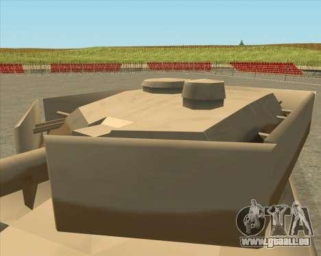 Dozuda.s Primary Tank (Rhino Export tp.) für GTA San Andreas rechten Ansicht