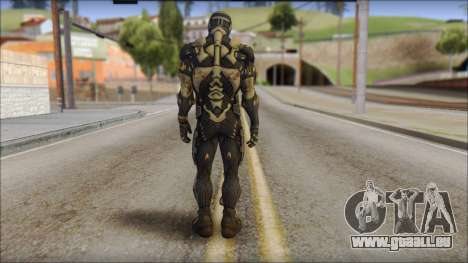 NanoSuit Skin pour GTA San Andreas deuxième écran