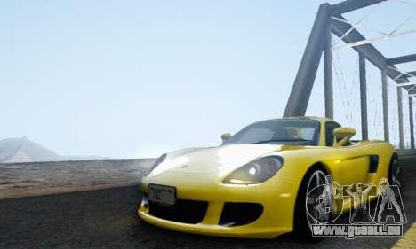 Porsche Carrera GT 2005 für GTA San Andreas Innenansicht