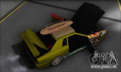 Doktor Style Elegy pour GTA San Andreas vue de côté
