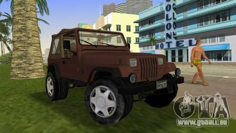 Jeep Wrangler für GTA Vice City