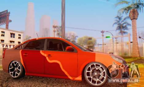 Opel Vectra C für GTA San Andreas linke Ansicht