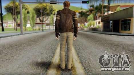Leon Kennedy from Resident Evil 6 v4 für GTA San Andreas zweiten Screenshot