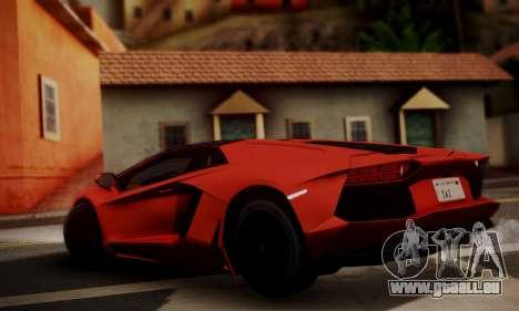 Lamborghini Aventador TT Ultimate Edition pour GTA San Andreas laissé vue