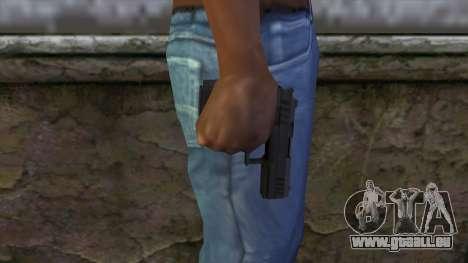 Combat Pistol from GTA 5 v2 pour GTA San Andreas troisième écran