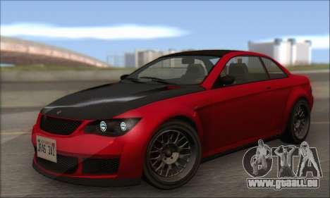 Überlegenheit Sentinel XS für GTA San Andreas