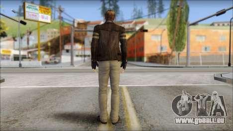 Leon Kennedy from Resident Evil 6 v3 pour GTA San Andreas deuxième écran