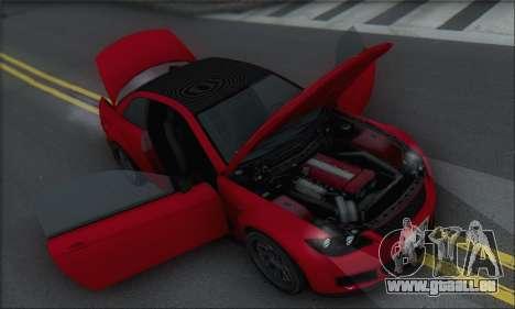 La supériorité Sentinel XS pour GTA San Andreas roue