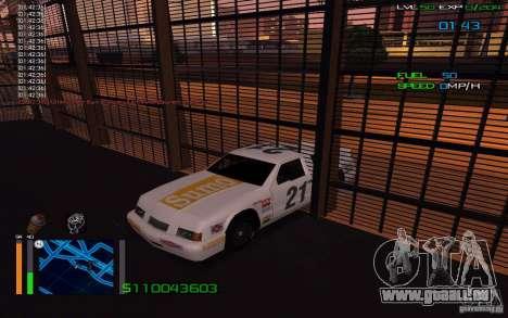 L'équitation à travers les murs pour GTA San Andreas troisième écran