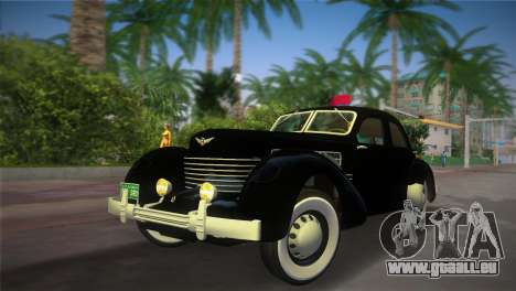 Cord 812 Charged Beverly Sedan 1937 für GTA Vice City