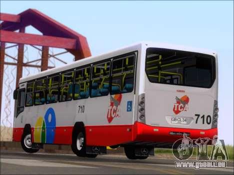 Neobus Mega IV - TCA (Araras) für GTA San Andreas Unteransicht