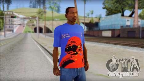 Black Sabbath T-Shirt v3 für GTA San Andreas