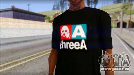 ThreeA T-Shirt für GTA San Andreas dritten Screenshot