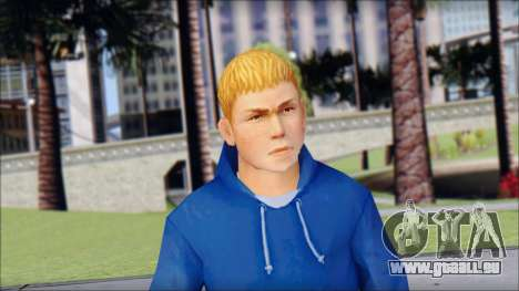 Jimmy from Bully Scholarship Edition pour GTA San Andreas