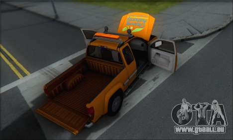Chevrolet Colorado Cleaning pour GTA San Andreas moteur