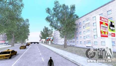 Russian Map 0.5 pour GTA San Andreas troisième écran