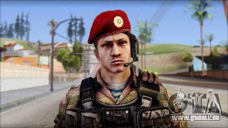 Forest GRU Vlad from Soldier Front 2 für GTA San Andreas dritten Screenshot