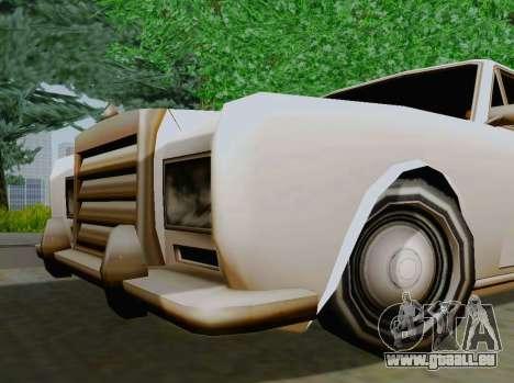 Stafford Limousine für GTA San Andreas rechten Ansicht