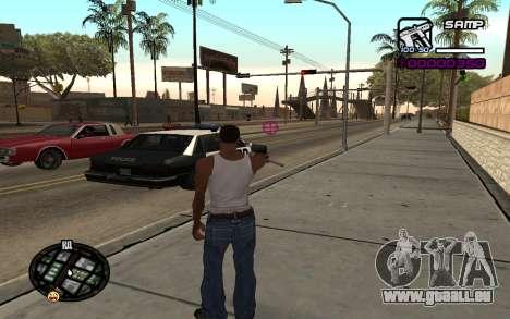 Hud by Videlka pour GTA San Andreas deuxième écran