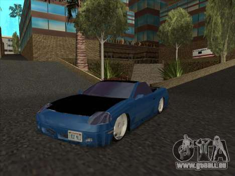 Alpha HD Cabrio pour GTA San Andreas laissé vue