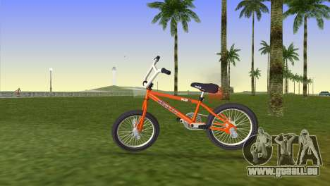 BMX from GTA San Andreas für GTA Vice City zurück linke Ansicht