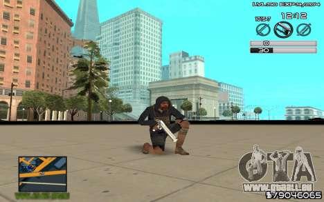 C-HUD by SampHack v.8 pour GTA San Andreas troisième écran