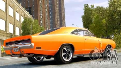 Dodge Charger RT 1970 für GTA 4 linke Ansicht