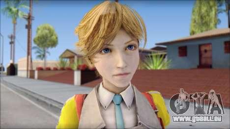 Final Fantasy XIII - Alyssa für GTA San Andreas dritten Screenshot