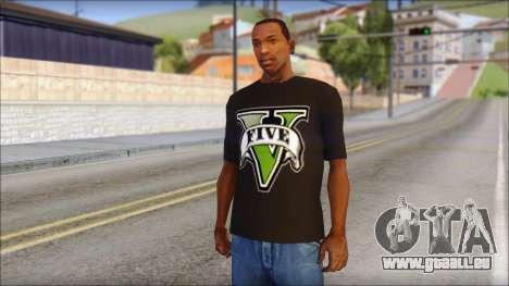 GTA 5 T-Shirt pour GTA San Andreas
