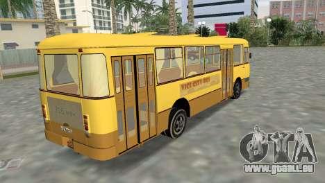 LiAZ 677 pour une vue GTA Vice City de la gauche