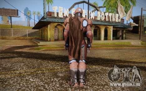 Living Laser Skin für GTA San Andreas zweiten Screenshot