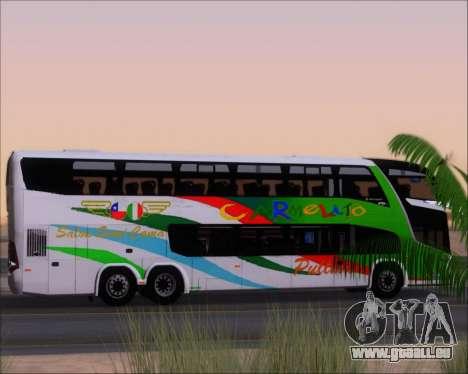 Marcopolo Paradiso G7 1800 DD 6x2 Scania K420 pour GTA San Andreas roue