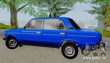 VAZ 21061 pour GTA San Andreas laissé vue