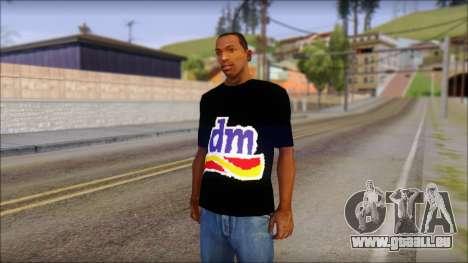 DM T-Shirt Drogerie Market pour GTA San Andreas