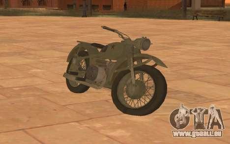Ural M72 für GTA San Andreas