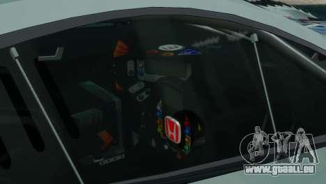 Honda HSV-010 GT pour GTA 4 Vue arrière de la gauche