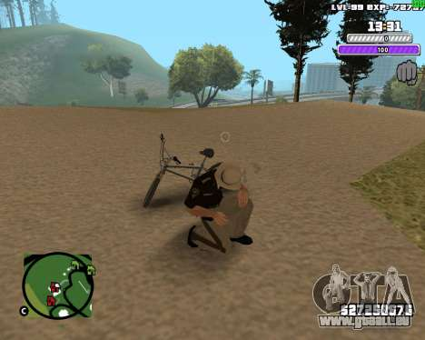 C-HUD by Weezy für GTA San Andreas her Screenshot