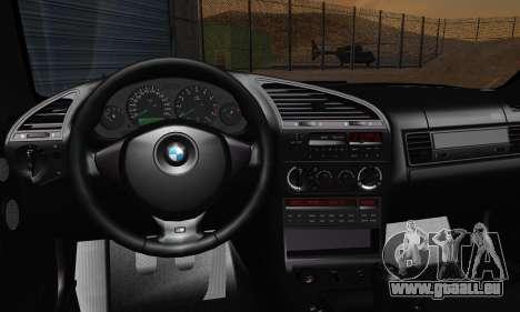 BMW M3 E36 1994 pour GTA San Andreas vue de côté