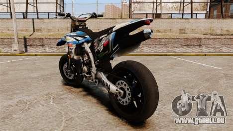 Yamaha YZF-450 v1.19 pour GTA 4 Vue arrière de la gauche