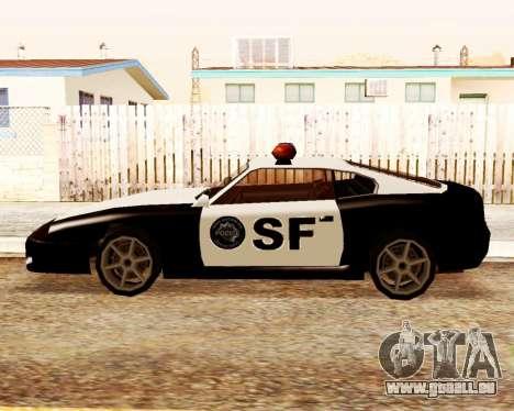 Jester Police SF pour GTA San Andreas laissé vue