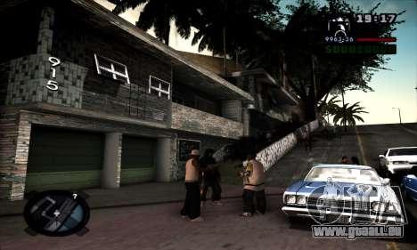 Ghetto ENB pour GTA San Andreas deuxième écran