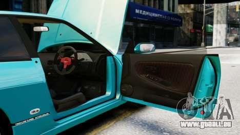 Nissan Silvia S13 v1.0 pour GTA 4 est une vue de l'intérieur