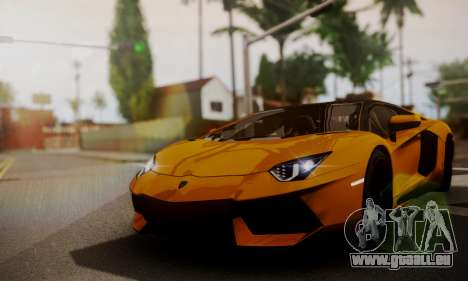 Lamborghini Aventador TT Ultimate Edition pour GTA San Andreas vue arrière