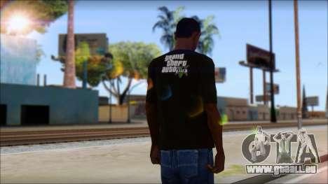 GTA 5 T-Shirt pour GTA San Andreas deuxième écran