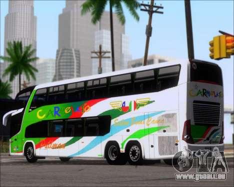 Marcopolo Paradiso G7 1800 DD 6x2 Scania K420 pour GTA San Andreas vue de droite